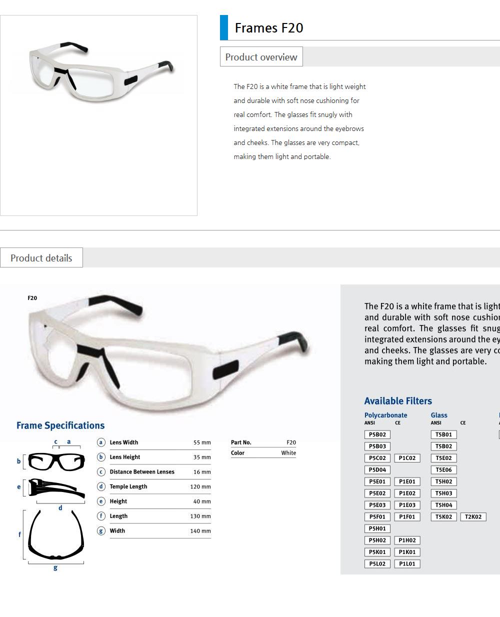 Euro Vision Laser Laser safety eyewear  6