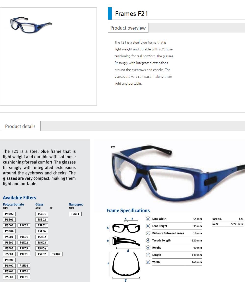 Euro Vision Laser Laser safety eyewear  7
