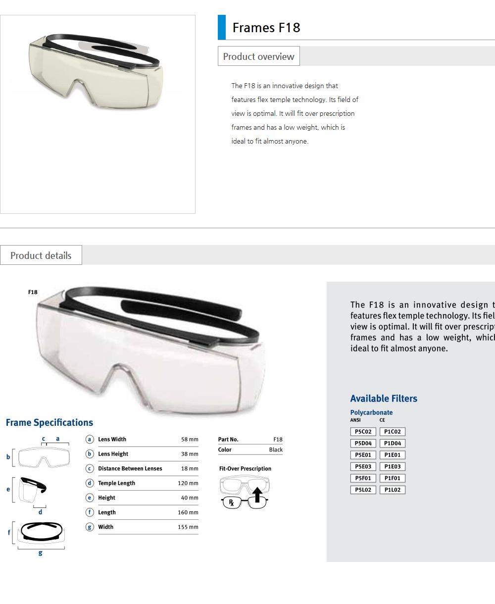 Euro Vision Laser Laser safety eyewear  9