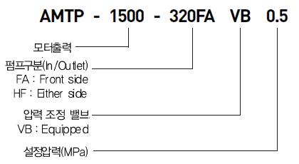 아륭기공  AMTP-FAVB,HFVB Type 1
