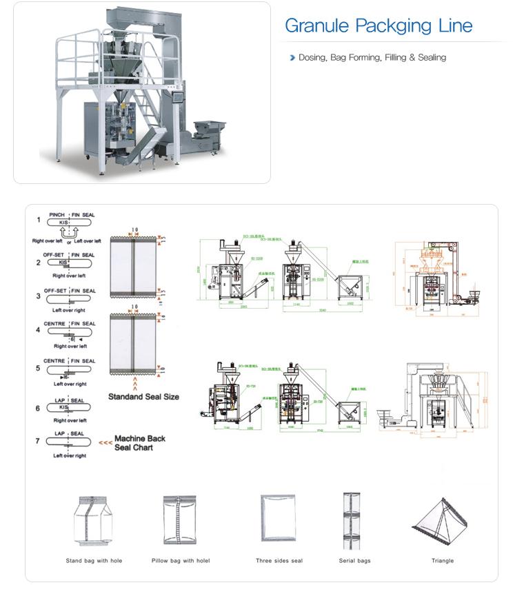 HANSAEM TECH Vertical Packing Machine HVP-Series 8
