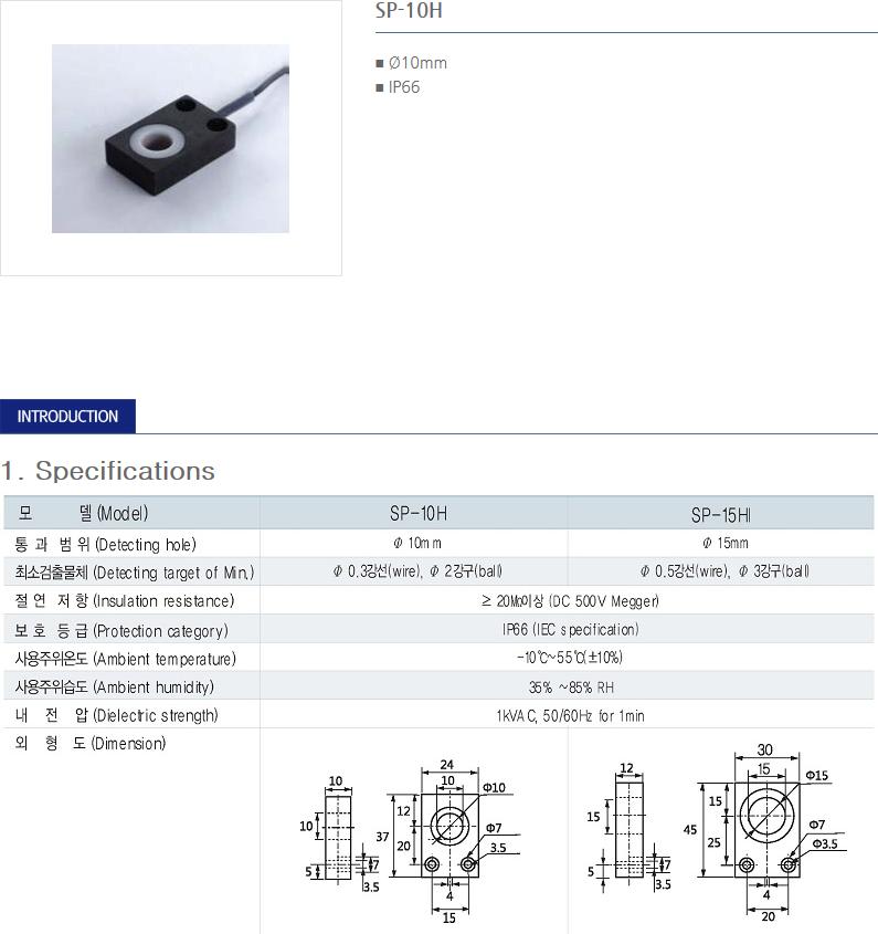 SANIL Ring Type - Ring Sensor