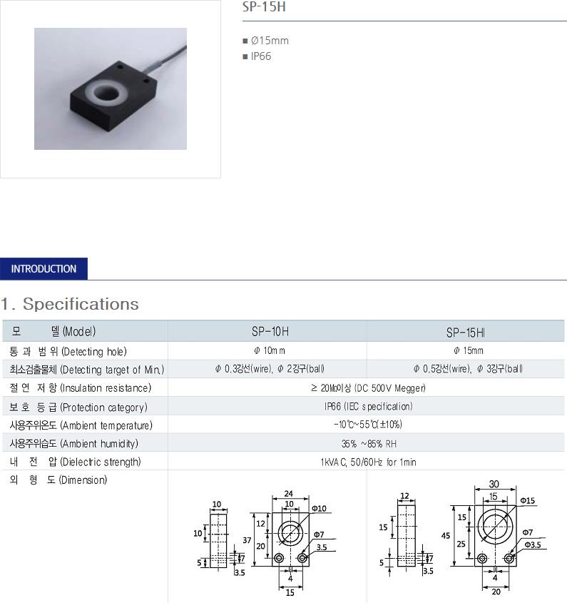 SANIL Ring Type - Ring Sensor  1