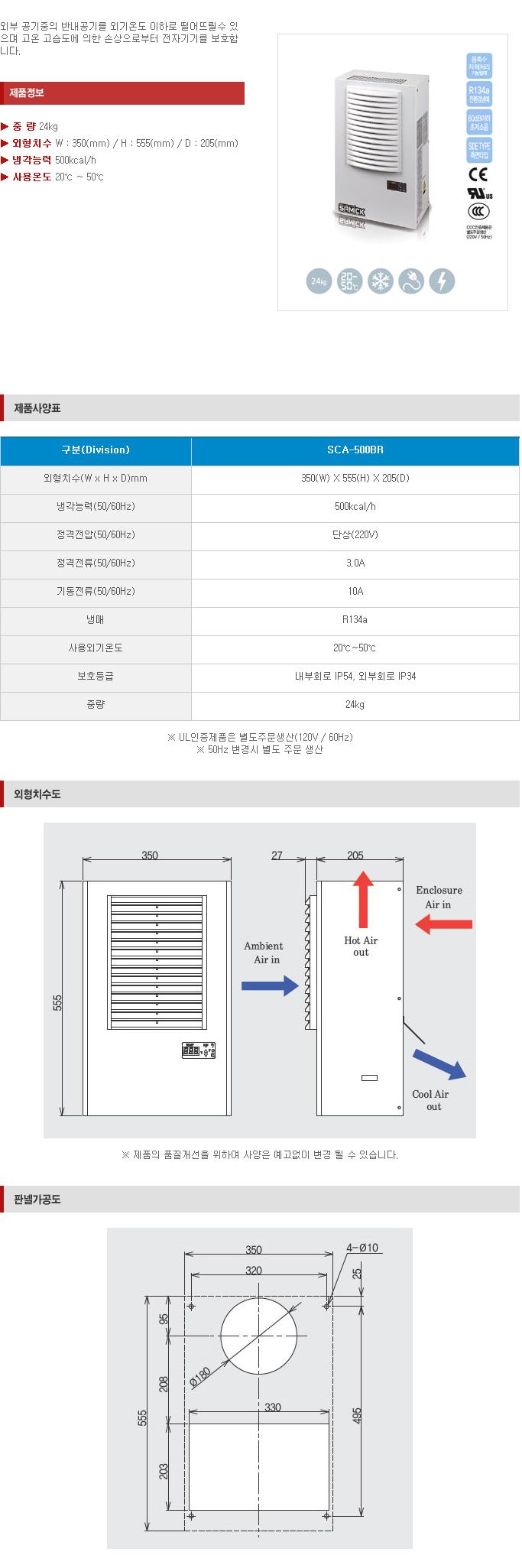 (주)삼익기전 Indoor Type SCA-Series 3