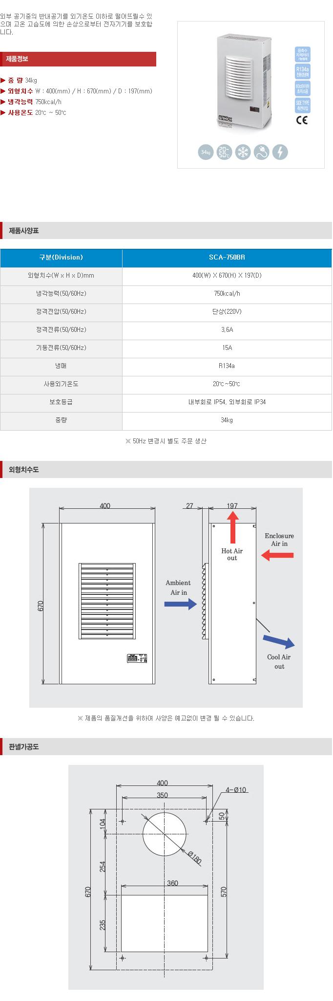 (주)삼익기전 Indoor Type SCA-Series 4