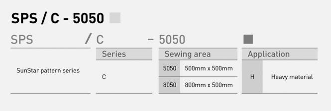 SunStar Pattern SPS/F-5030/6040 Series
