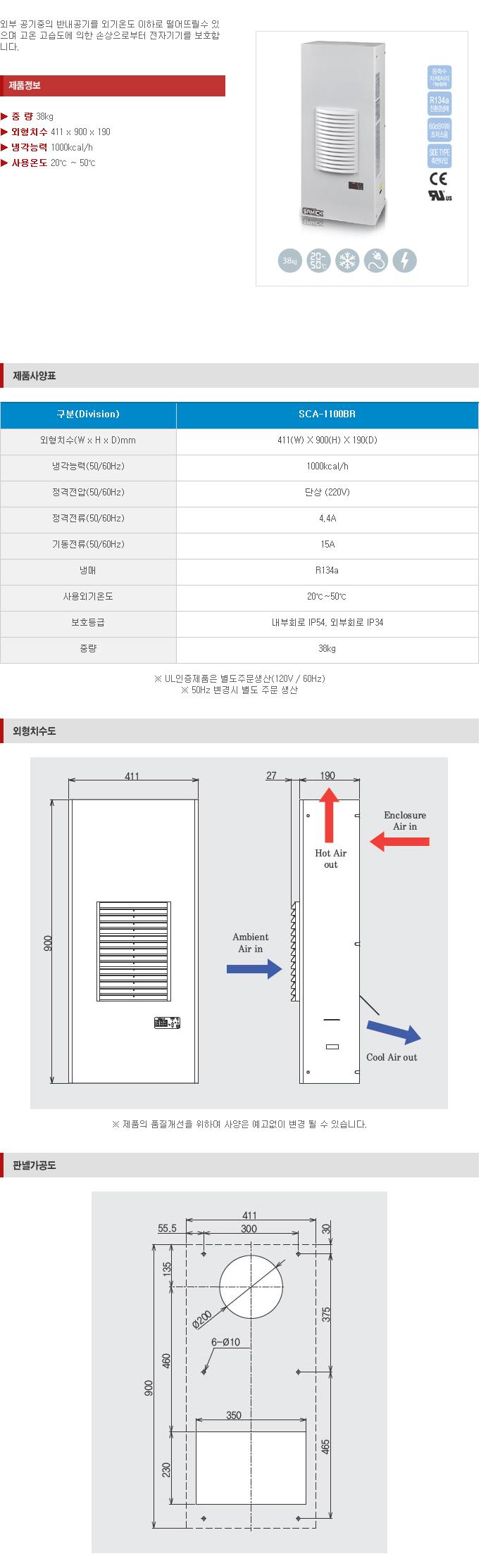 (주)삼익기전 Indoor Type SCA-Series 5