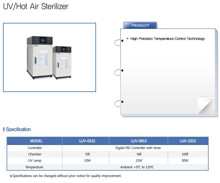 LABTECH Hot Air / UV Sterilizer
