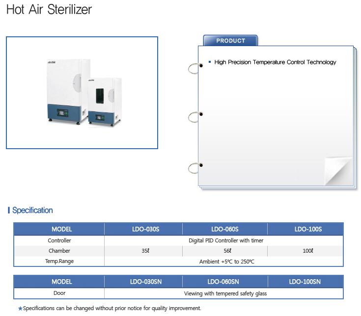 LABTECH Hot Air / UV Sterilizer  1
