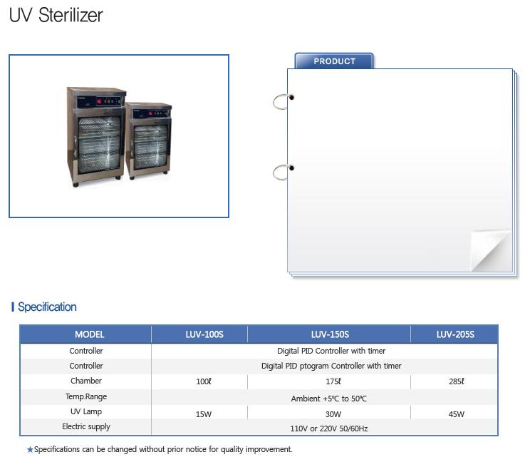 LABTECH Hot Air / UV Sterilizer  2
