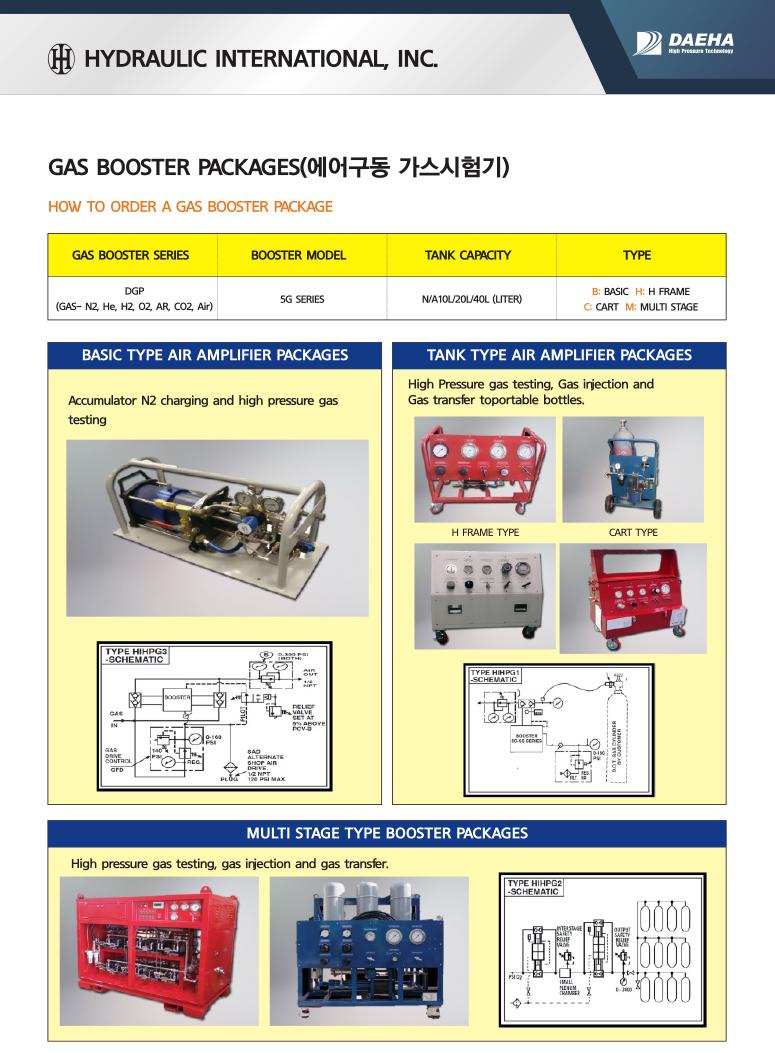 (주)대하 에어구동 가스증압펌프  1