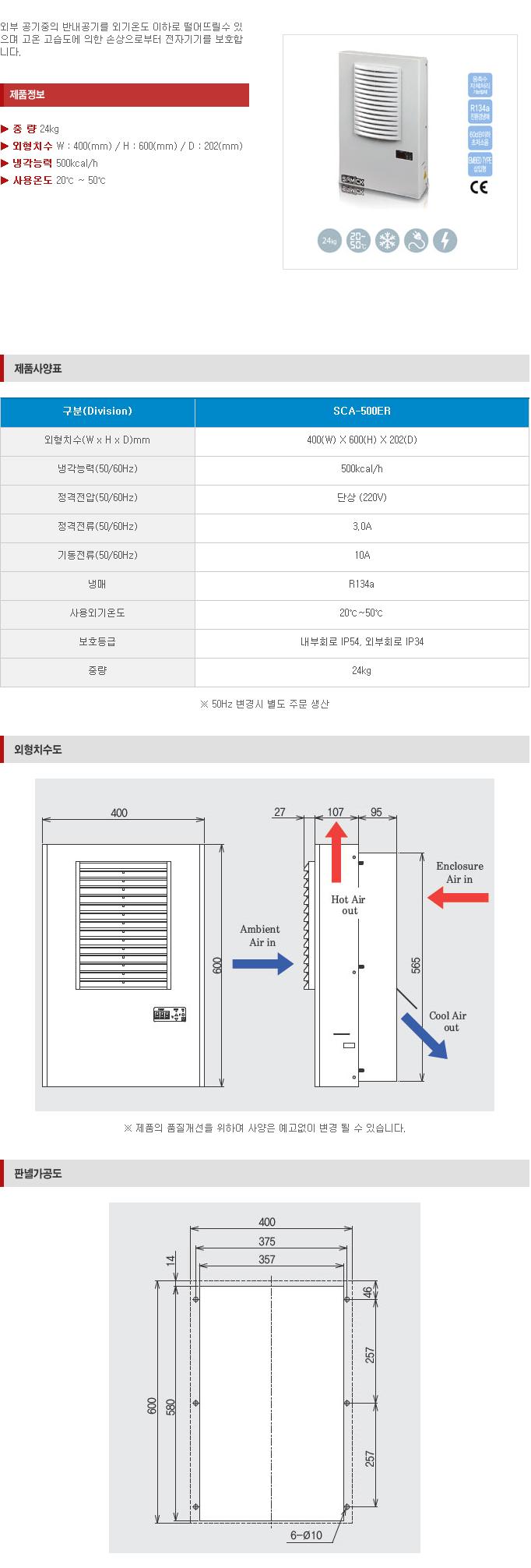 (주)삼익기전 Indoor Type SCA-Series 12