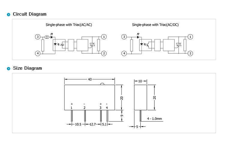 SamWha DSP PCB Type (DC Output/DC Input) WKS-0203PBZL 1