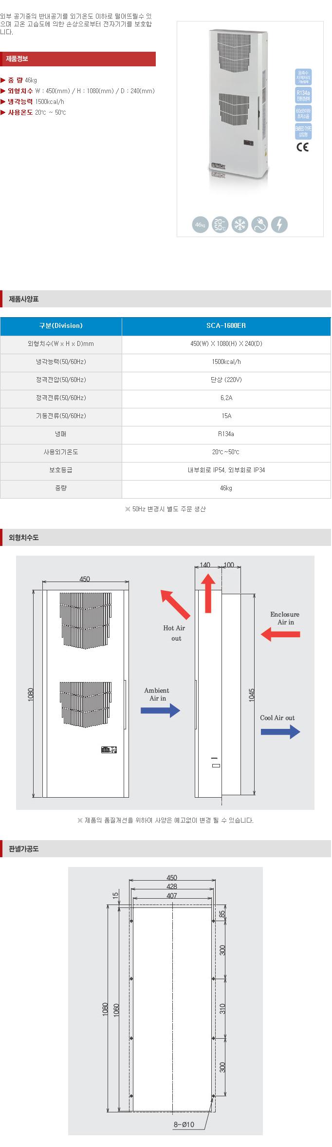 (주)삼익기전 Indoor Type SCA-Series 15