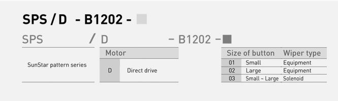 SunStar Bartack & Button SPS/D-B1202 Series