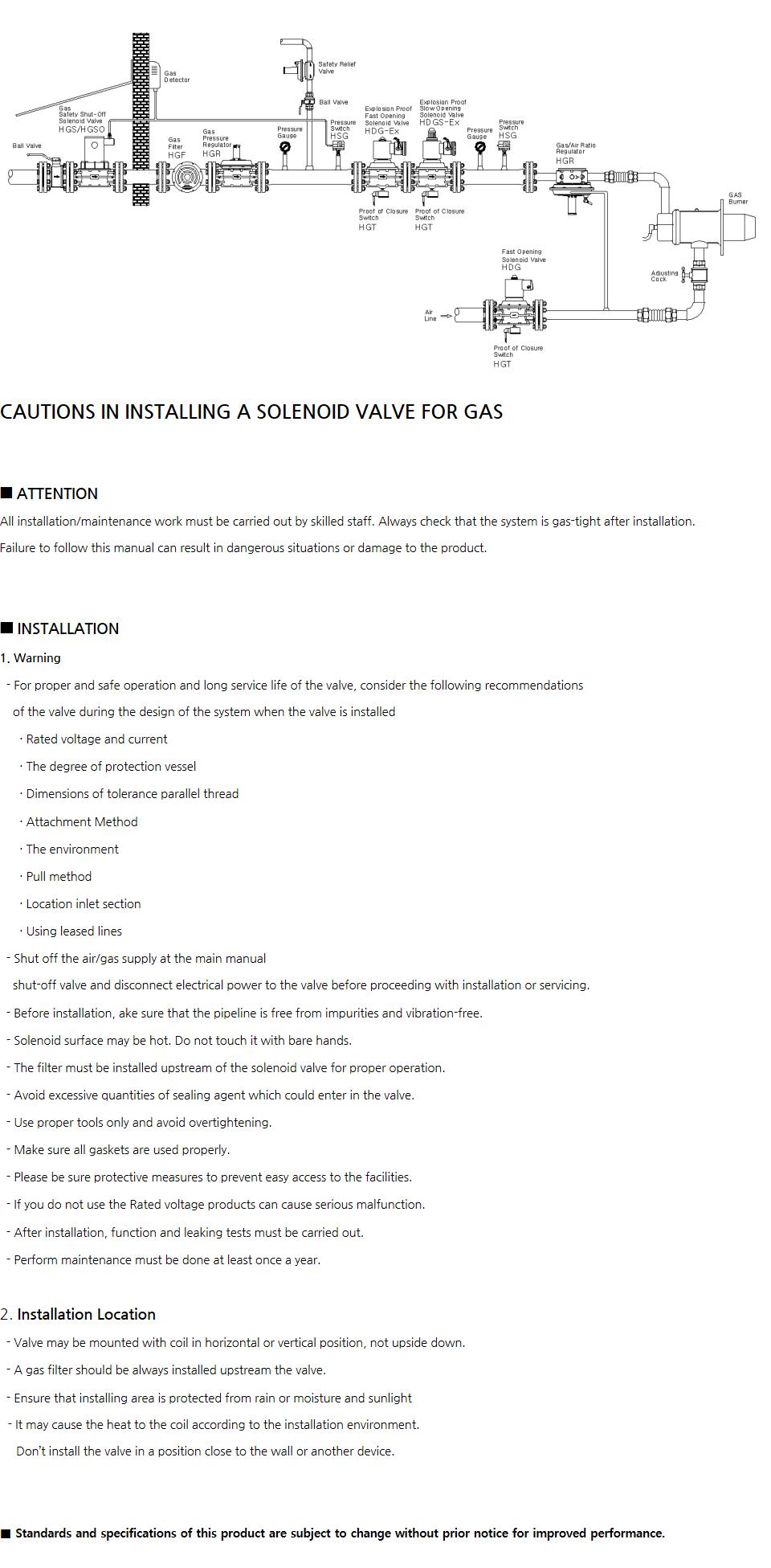 HYOSHIN MECHATRONICS Gas Equipment Arrangement  1