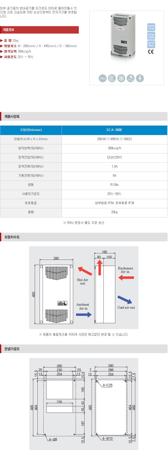 (주)삼익기전 Indoor Type SCA-Series 19