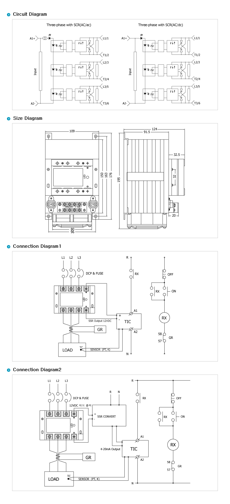 SamWha DSP H-Type (AC Out / DC Input + Heat Sink) WKS-3270HF04 2
