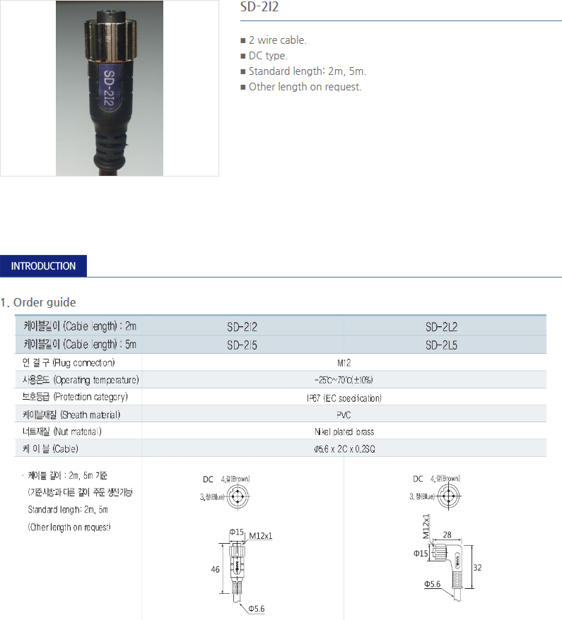 SANIL Connector Cable  7