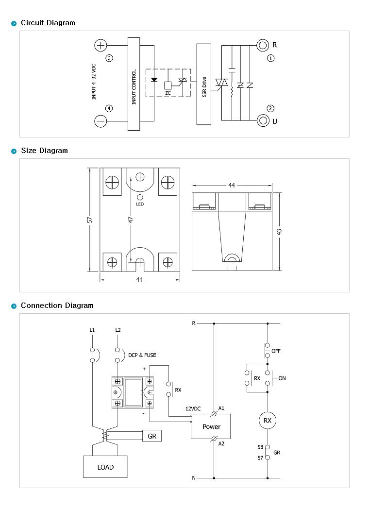 SamWha DSP Non Heat sink Type WK-1240SQN 1
