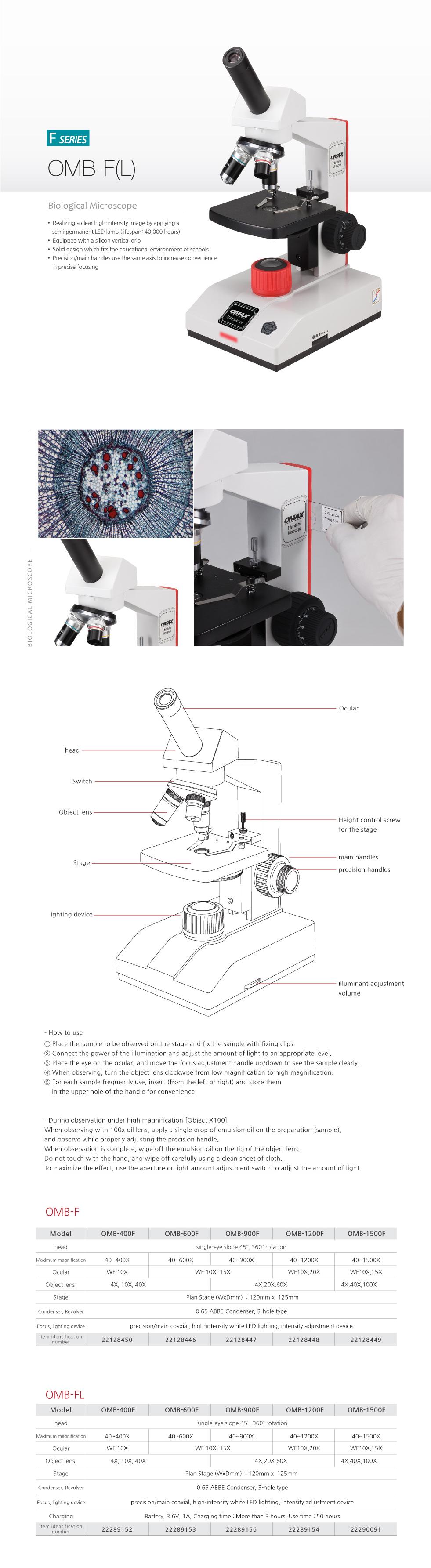 OMAX Biological Microscope  5