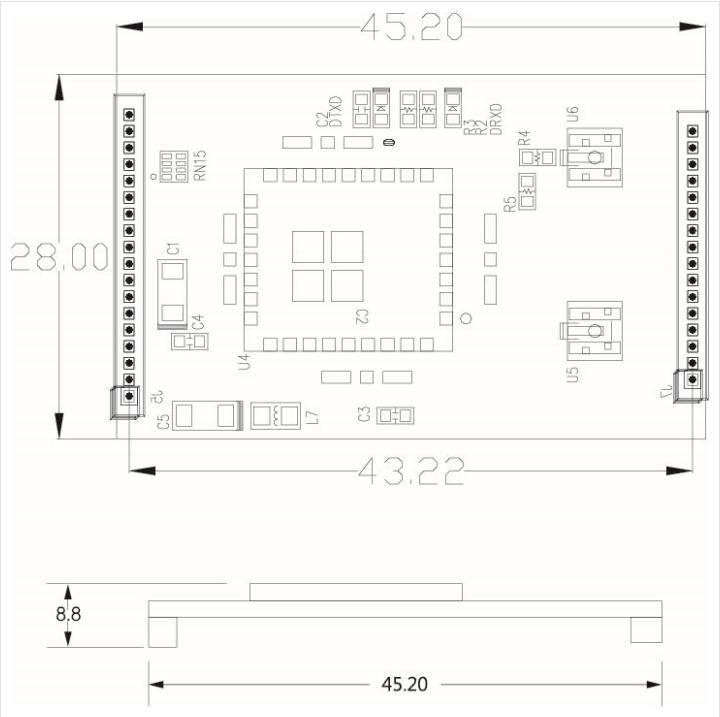 SystemBase Wireless Module Eddy-CPU/WiFi v3.0 1