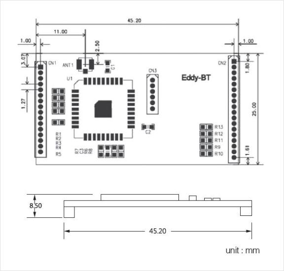 SystemBase Wireless Module Eddy-CPU/BT v2.1 1