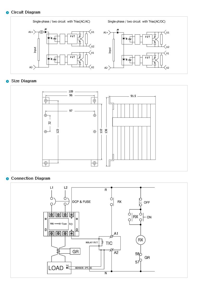 SamWha DSP H-Type (AC Out / AC Input + Heat Sink) WKS-1250HHAC 2