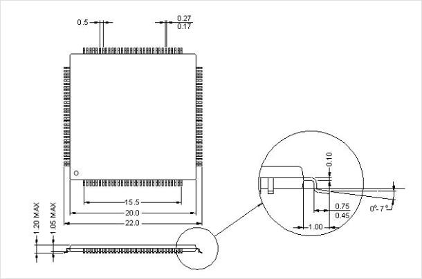 SystemBase UART Controller SB16C1058_TQ128 3