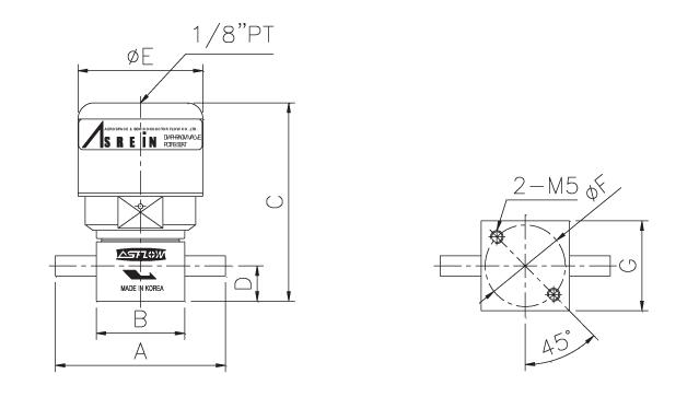 ASFLOW Pneumatic Diaphragm Valve  4