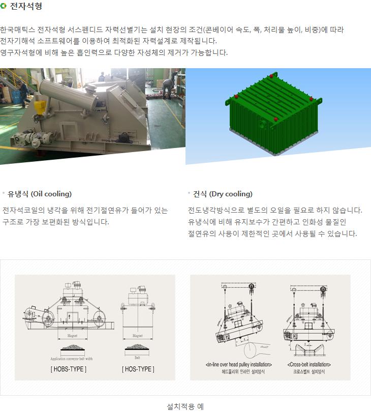 한국매틱스 서스펜디드 자력선별기  2