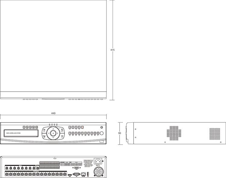 Camlux DVR HECO-4167 1