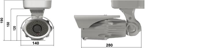 Camlux Camera CPH-2030E-FVIR 2