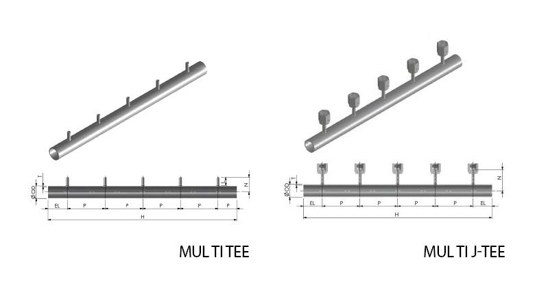 ASFLOW Multi Tee / J-Tee
