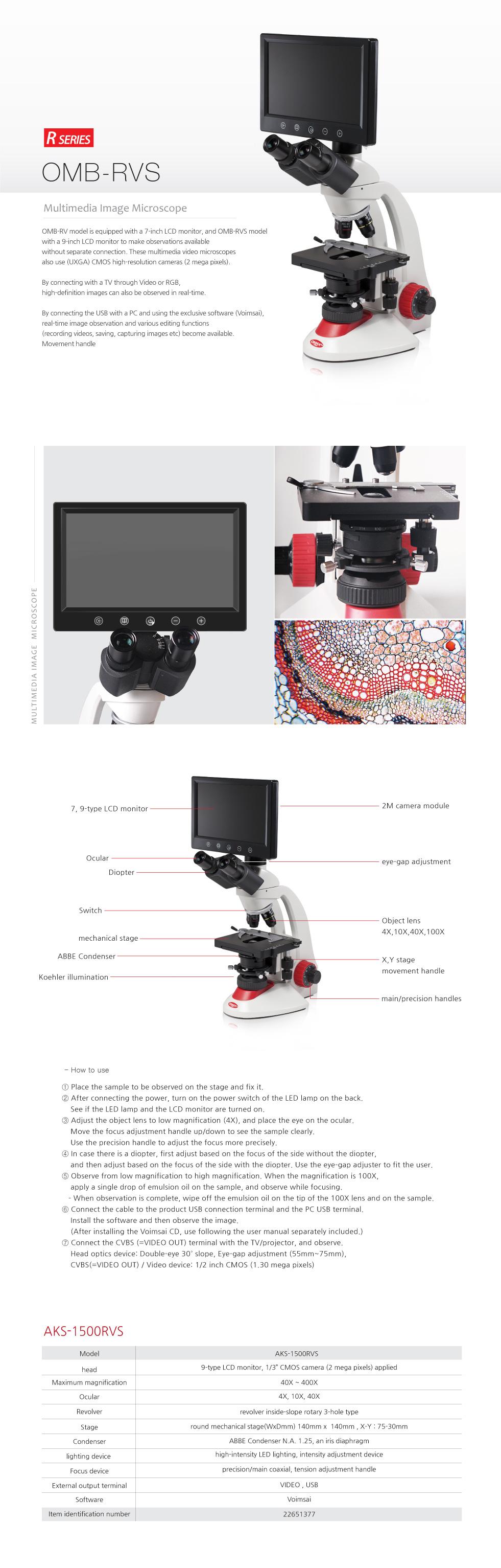 OMAX Biological Microscope  7