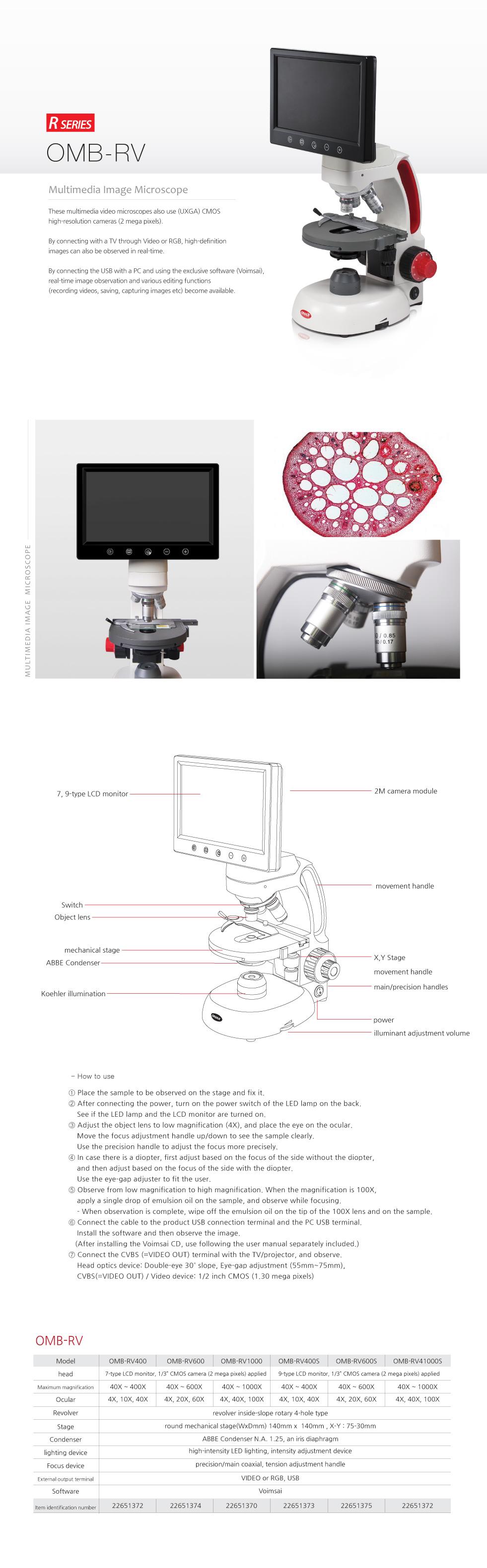 OMAX Biological Microscope  9