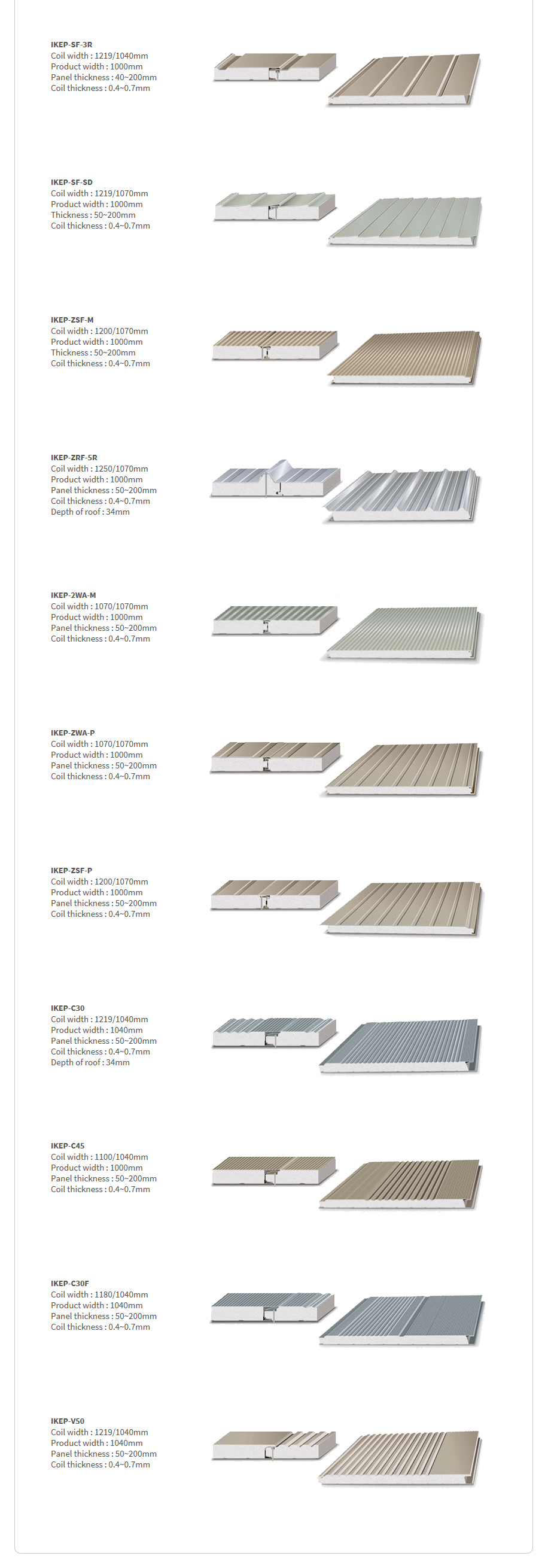 ILKWANG Metal Forming EPS sandwich panel machine (Continuous)  2