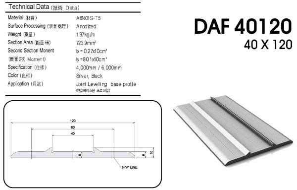 (주)대영프로파일 Flat  1