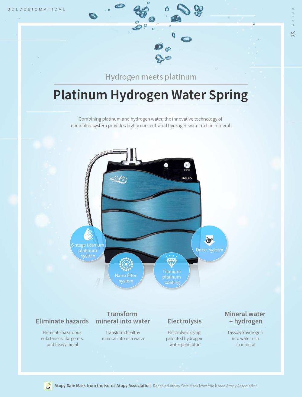 SOLCO BIOMEDICA Direct Type Hydrogen Water Generator  6