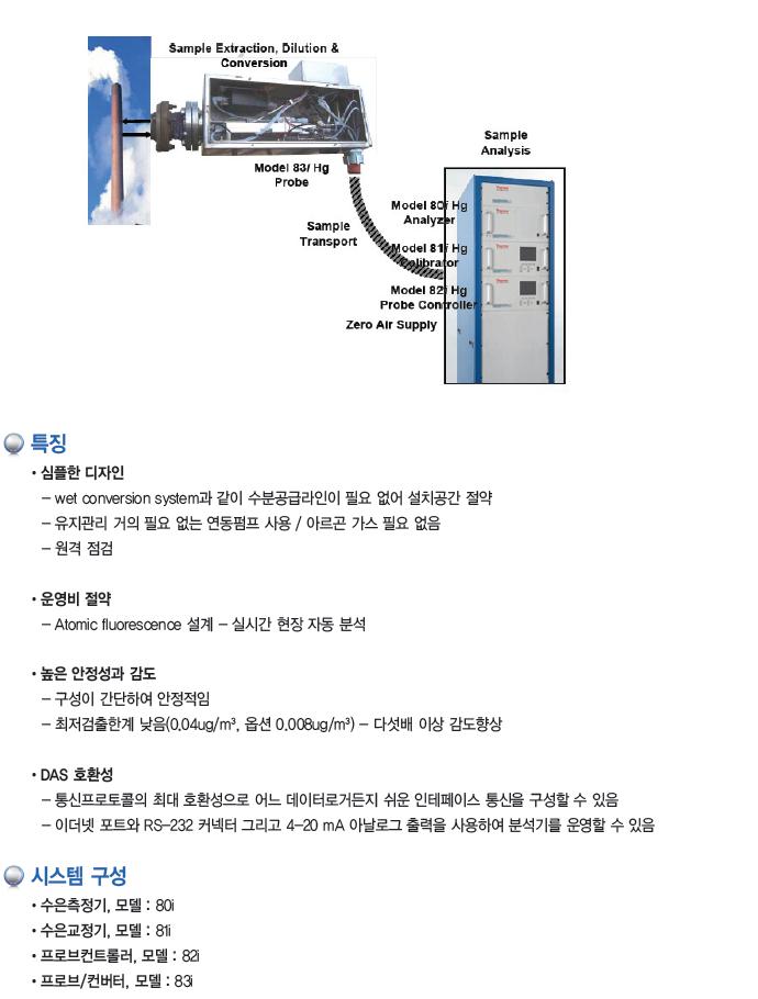 KNJ 수은 자동 측정시스템