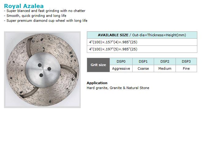 Dongsin Diamond Industrial Cup Wheel  6