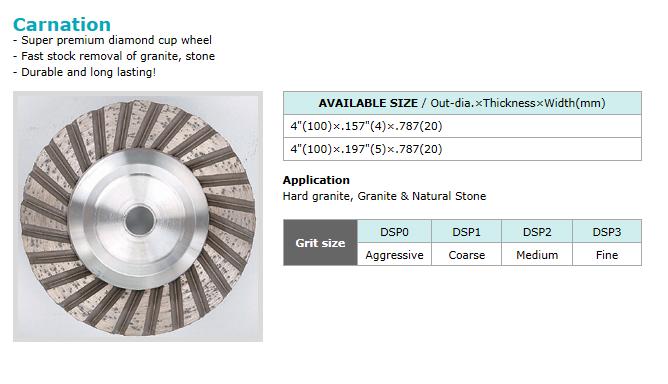 Dongsin Diamond Industrial Cup Wheel  3
