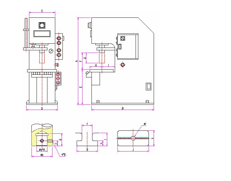 (주)대흥유압 C형 프레스 DHP-3~50