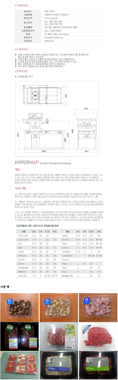 하이퍼박(주) MAP 포장기계 MAP-AR2E