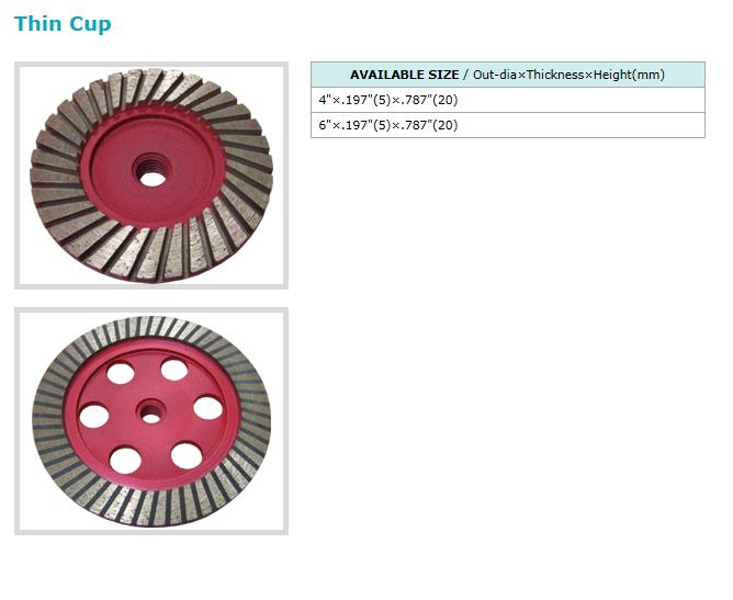 Dongsin Diamond Industrial Cup Wheel  15