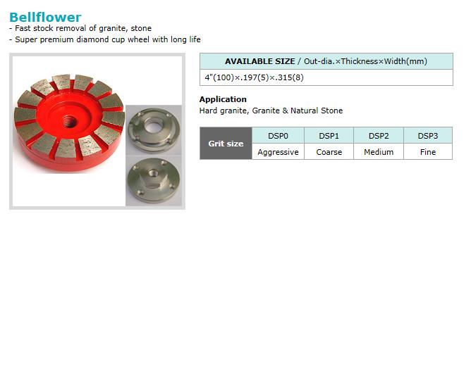 Dongsin Diamond Industrial Cup Wheel  13