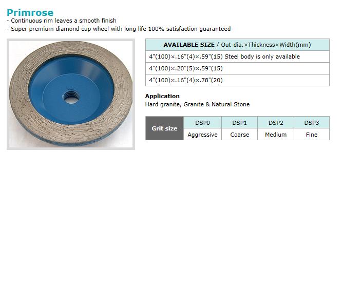 Dongsin Diamond Industrial Cup Wheel  10