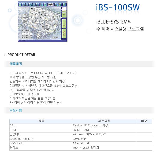 영전TNC  iBS-100SW
