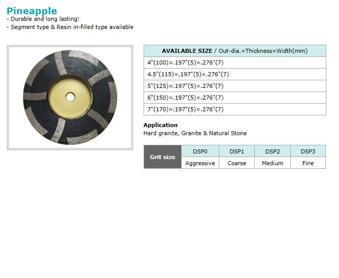 Dongsin Diamond Industrial Cup Wheel  8