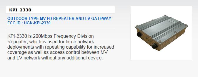 Kaicom Outdoor Type MV FD Repeater and LV Gateway KPI-2330
